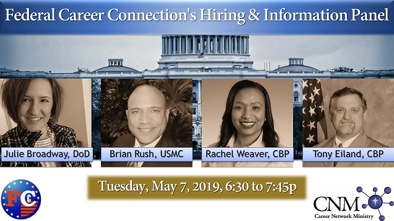 Federal Career Connection's Hiring & Information Panel