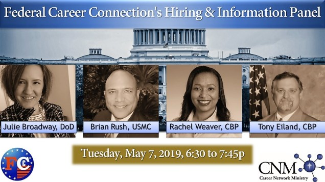 Federal Career Connection's Hiring & Information Panel – FEDERAL